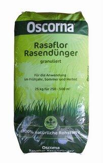25 kg Oscorna Rasafloor pelletriert, Organischer NPK-Dünger 8-4-5