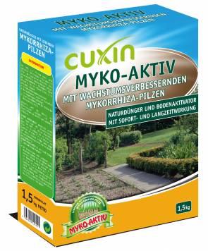 3 kg Cuxin Myko aktiv, Naturdünger mit lebenden Mykorrhiza-Pilzen