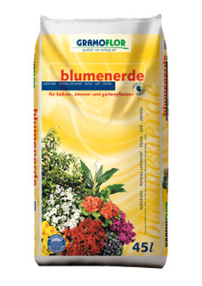 45 ltr. Gramoflor Blumenende,