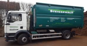 Containerdienst für Ihr Bauvorhaben ..., Baumaschinentransporte